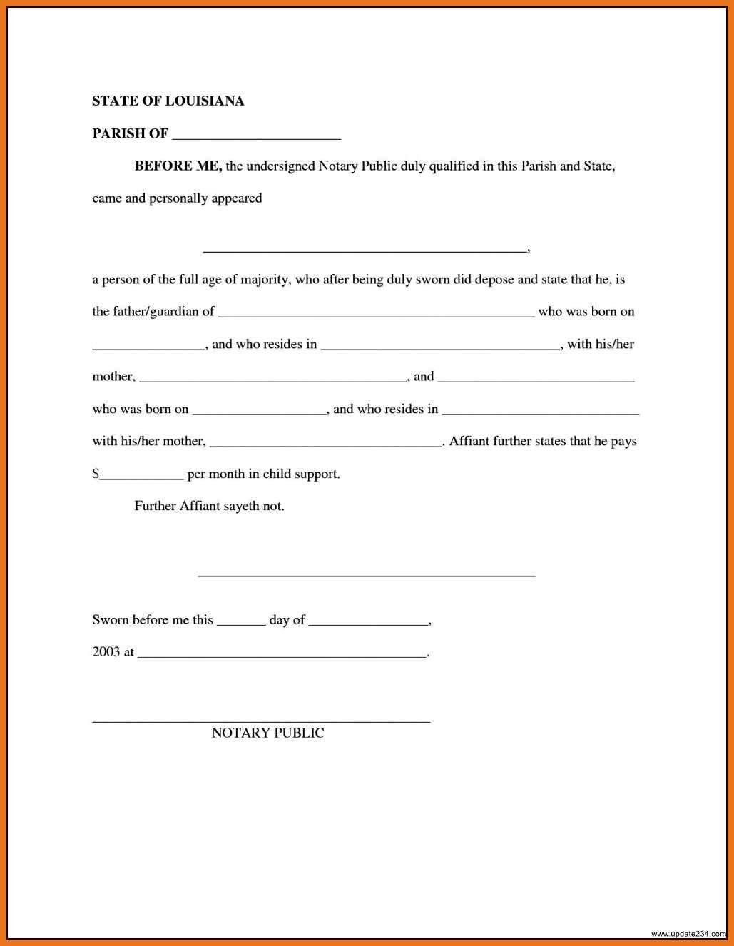 Child Support Agreement Sample 4 5 Child Support Agreement Letter