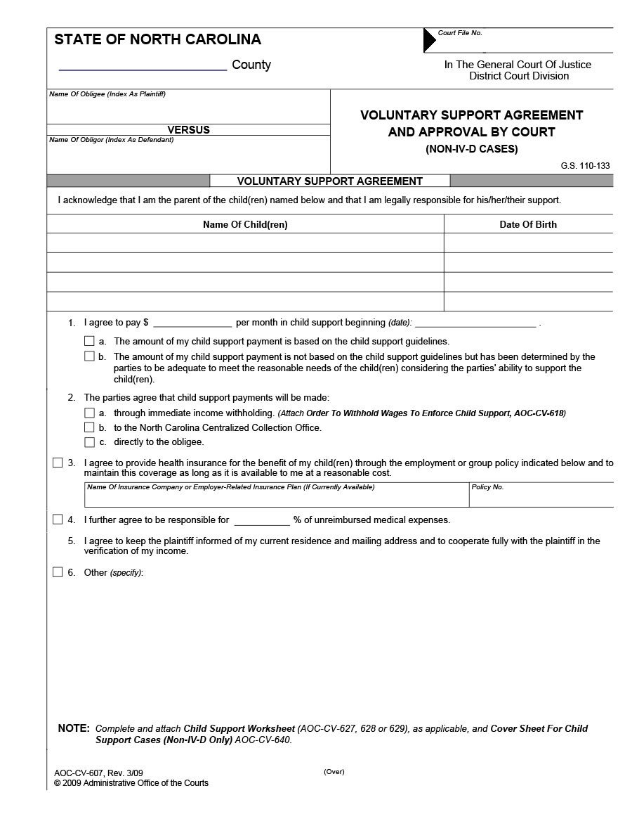 Child Support Agreement Template 32 Free Child Support Agreement Templates Pdf & Ms Word