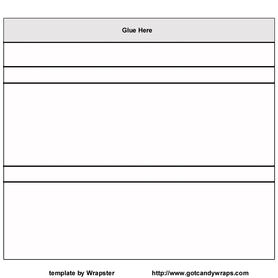 Chocolate Bar Wrapper Template Free Printable Candy Bar Wrappers Templates