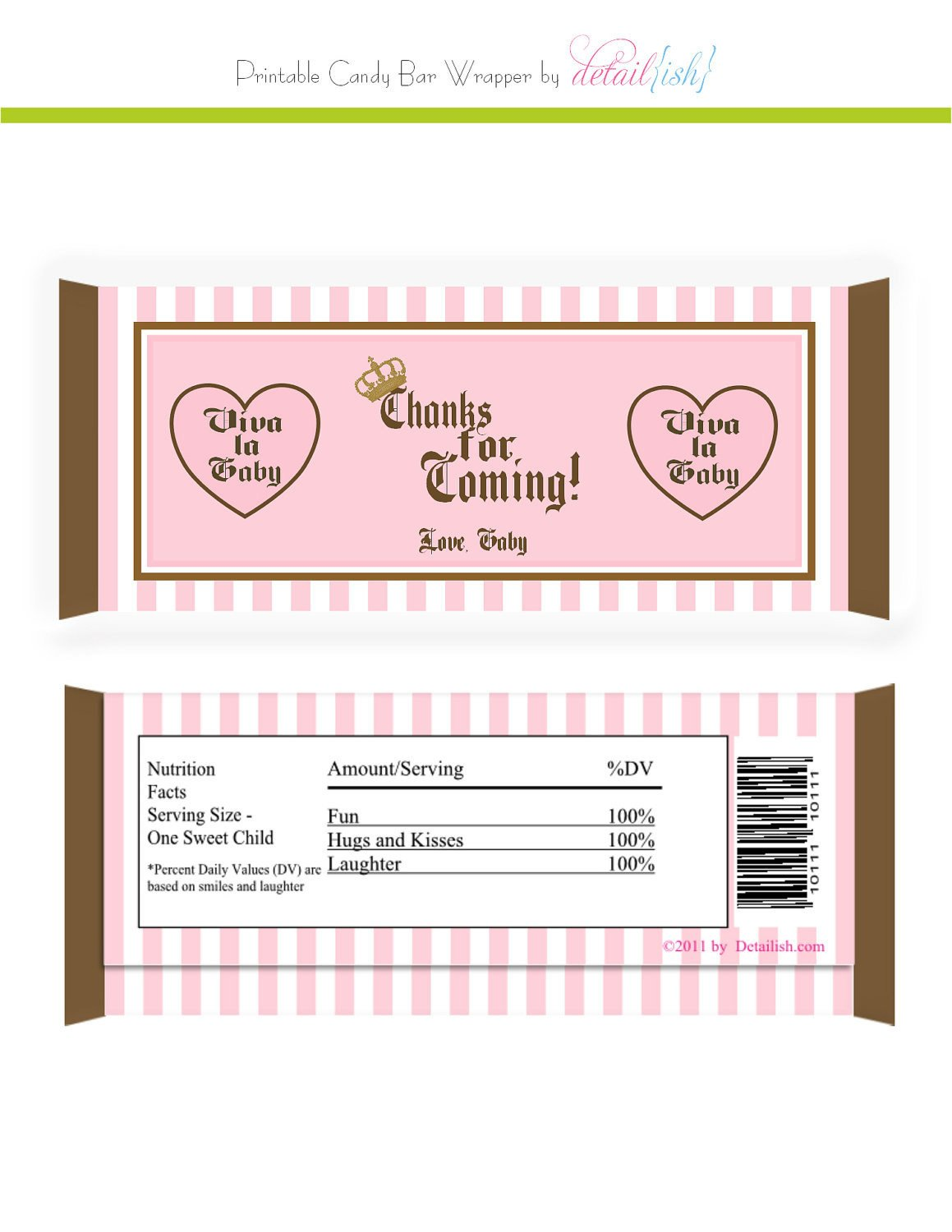 Chocolate Bar Wrapper Template Items Similar to Juicy Couture Inspired Candy Bar Wrapper