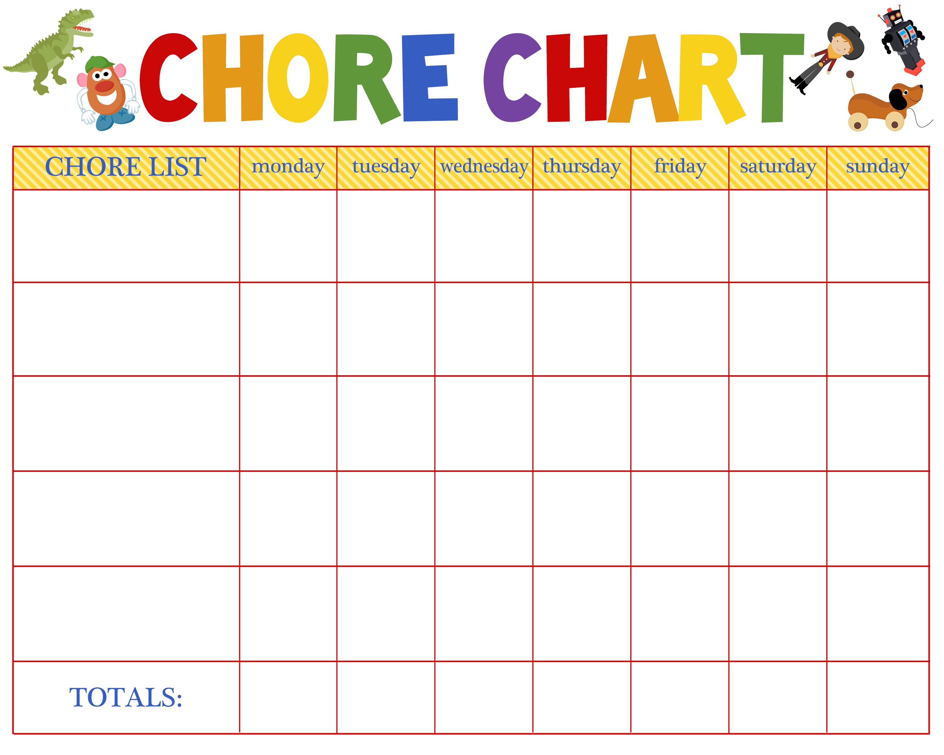 Chore Chart Templates Free Free Behavioral Aid Printables Jumping Jax Designs
