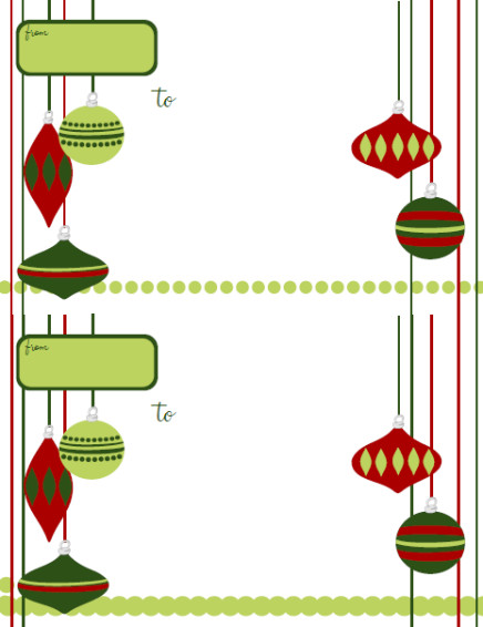 Christmas Address Labels Template Holiday Labels – Holiday Label Templates Free Printable