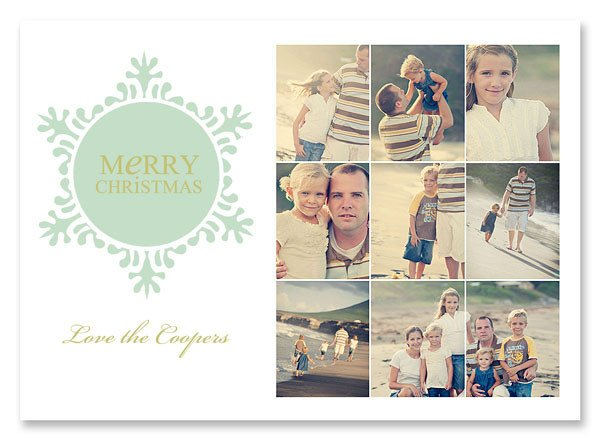 Christmas Card Photoshop Templates Christmas Card Templates From Simple as that