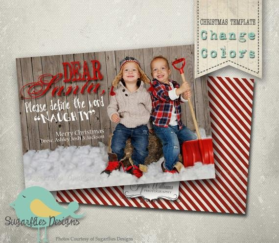 Christmas Card Template Photoshop Christmas Card Photoshop Template Family Christmas Cards