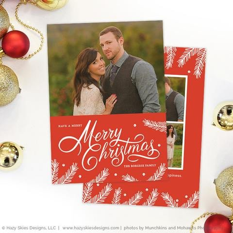 Christmas Card Template Photoshop Christmas Card Templates