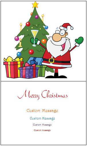 Christmas Card Template Word Christmas Card Templates Templates for Microsoft Word