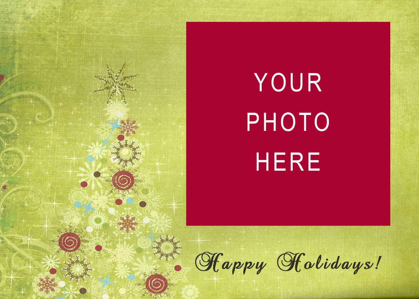 Christmas Card Template Word Free Christmas Card Templates