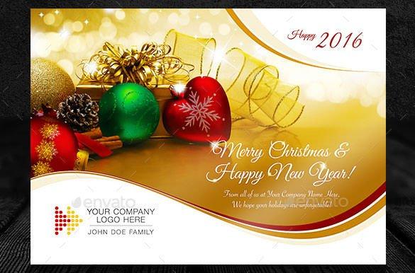 Christmas Card Templates Word 150 Christmas Card Templates Free Psd Eps Vector Ai