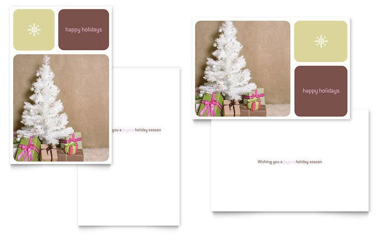 Christmas Card Templates Word Contemporary Christmas Greeting Card Template Word