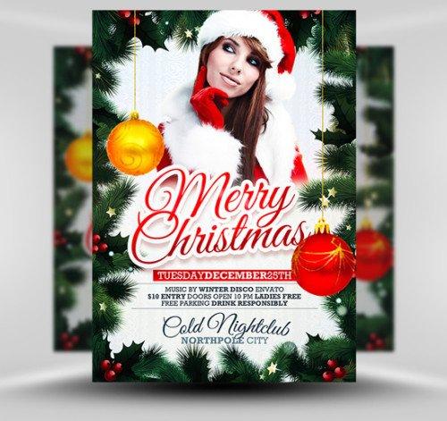Christmas Flyer Template Free Download 10 Best Free Christmas Flyer Templates thedesignblitz