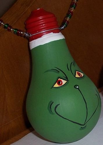 Christmas Light Bulb Cut Outs Best 25 Grinch Christmas Lights Ideas On Pinterest