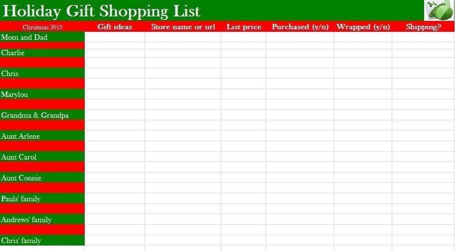 Christmas List Template Word Microsoft Word Christmas Wish List Template Google