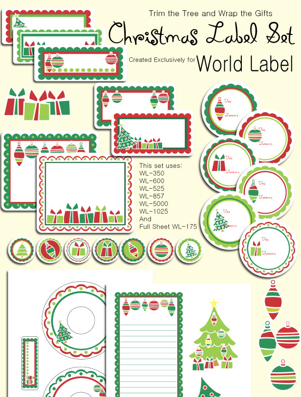 Christmas Mailing Labels Template Christmas Labels Ready to Print