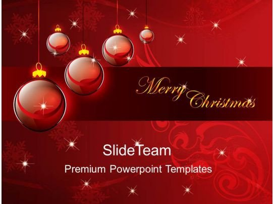 Christmas Powerpoint Slide Show Christmas Carol Powerpoint Templates Merry Background Ppt