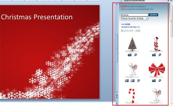 Christmas Powerpoint Slide Show How to Make An original Christmas Powerpoint Template for Free
