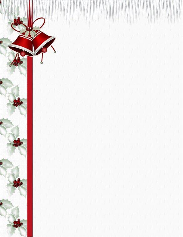 Christmas Stationery Templates Word 25 Christmas Stationery Templates Free Psd Eps Ai