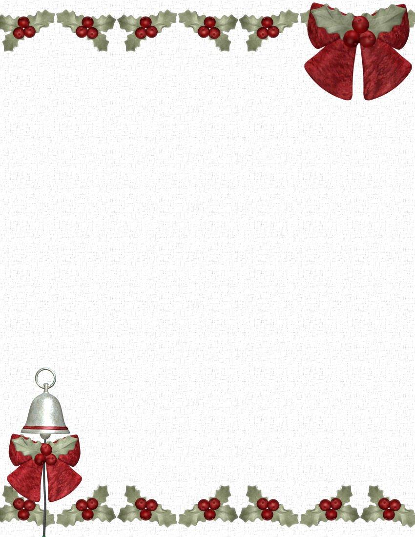 Christmas Stationery Templates Word Christmas Stationery Templates Microsoft Word Freemixfs