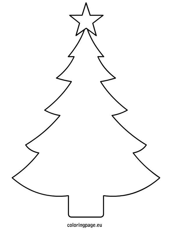 Christmas Tree Printable Template Christmas Tree Template Printable … Bazaar Ideas