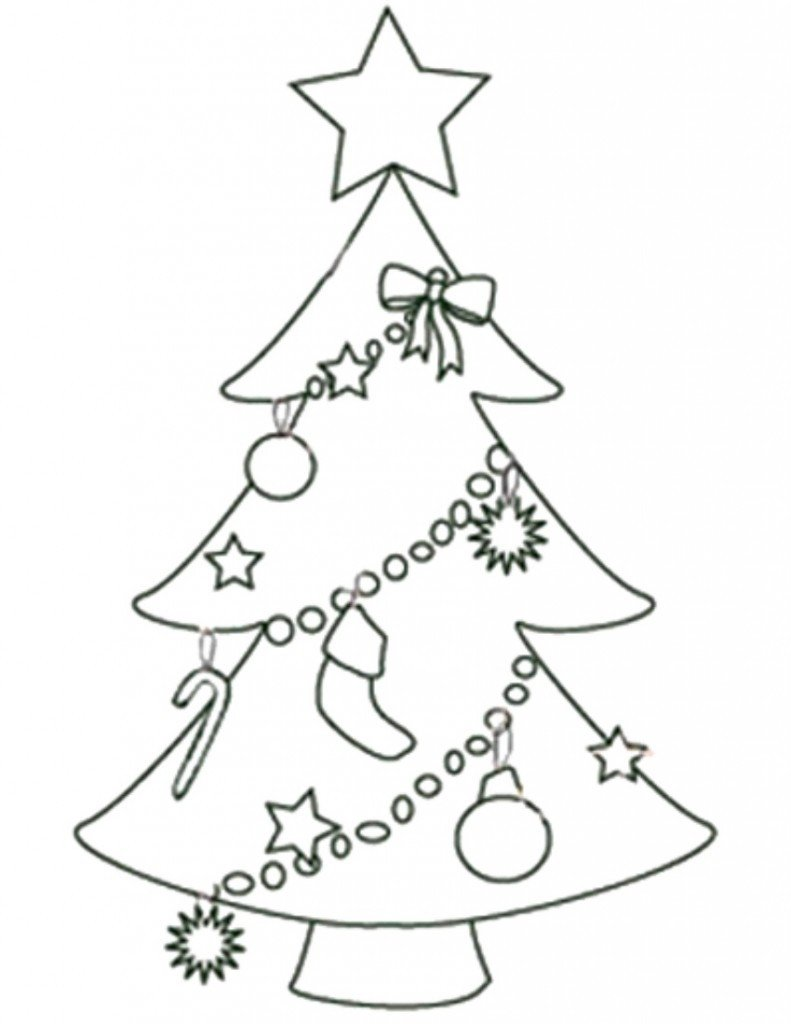 Christmas Tree Printable Template Free Printable Christmas Tree Templates