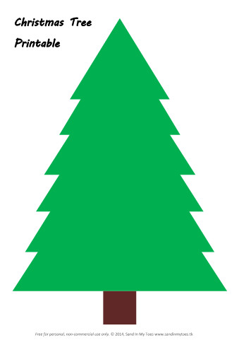 Christmas Tree Template Printable Busy Hands Making Christmas Trees and Free Printable