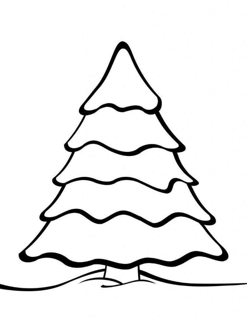 Christmas Tree Template Printable Free Printable Christmas Tree Templates