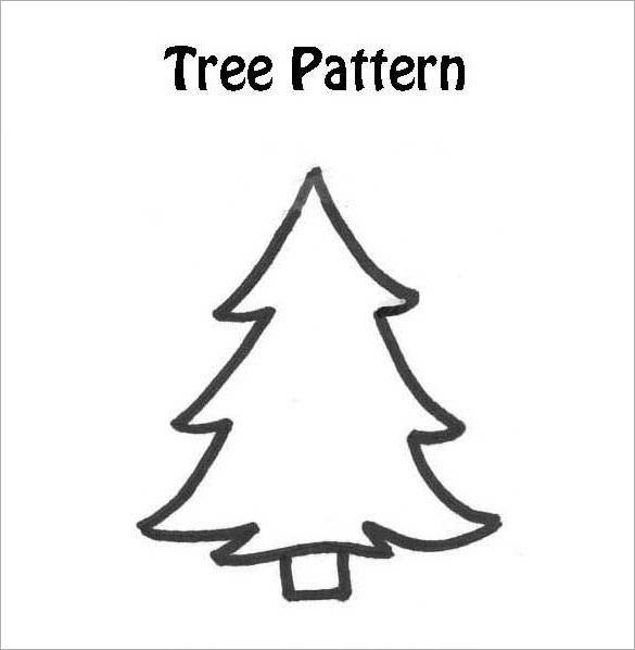 Christmas Tree Template Printable Printable Christmas Tree Christmas Printables