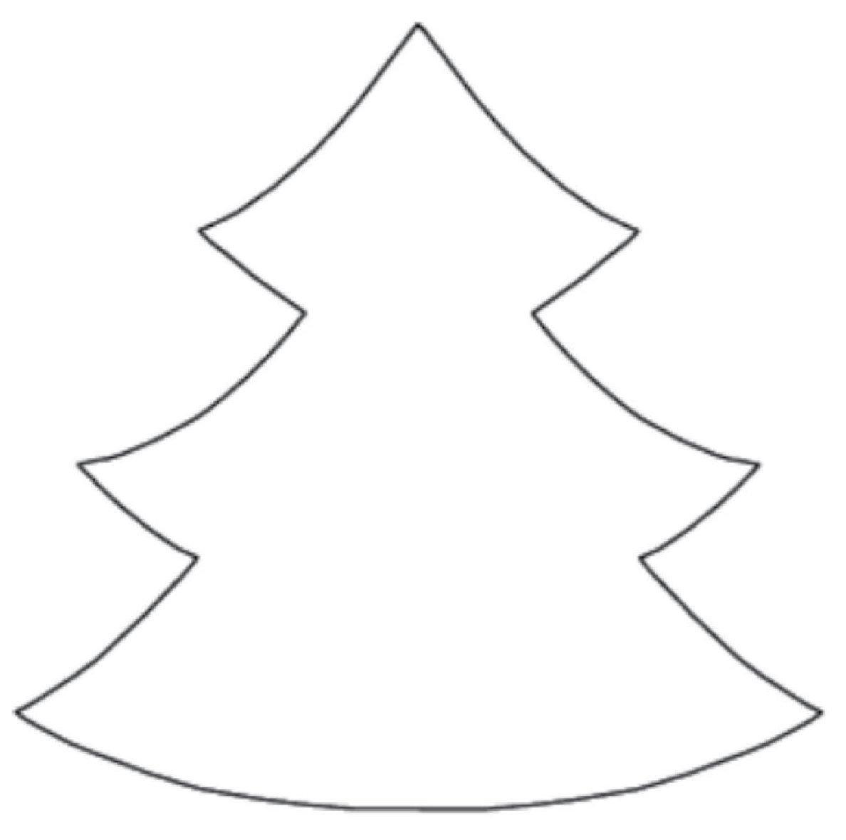 Christmas Tree Template Printable Printable Christmas Tree Patterns