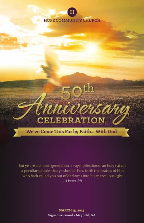 Church Anniversary Program Template Flipsnack Church Anniversary by Michael Taylor