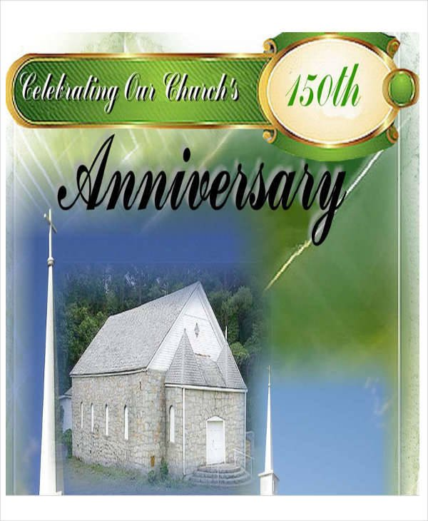 Church Anniversary Program Templates Free 9 Church Program Samples Free Sample Example format