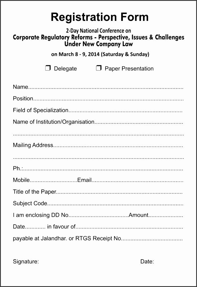 Church Camp Registration form Template 6 5k Registration form Template Sampletemplatess
