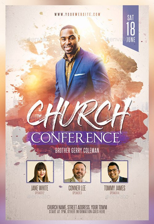 Church Flyer Templates Free 30 Premium and Free Church Psd Templates for Religious