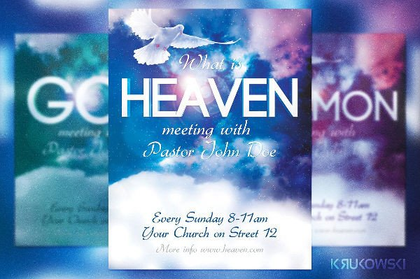 Church Flyer Templates Free 39 Invitation Flyer Designs & Examples Psd Ai Vector