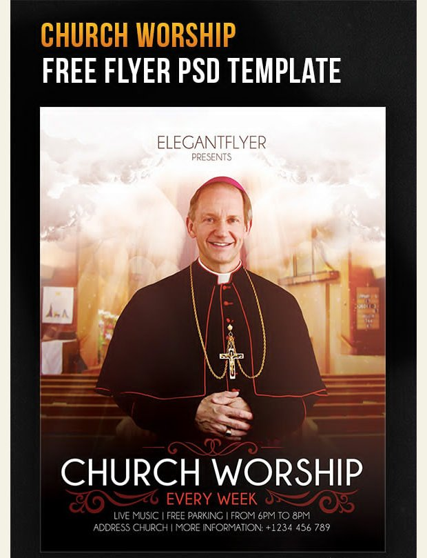 Church Flyer Templates Free 39 Psd Flyer Templates with Massive Look