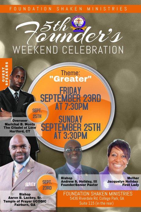 Church Flyer Templates Free Church Flyer Template