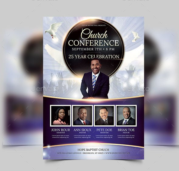 Church Flyers Templates Free Download 34 Free Psd Church Flyer Templates In Psd for Special