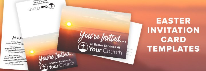 Church Invitation Cards Templates 7 Ideas Tips & Resources for Your Church This Easter