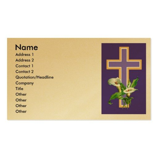 Church Invitation Cards Templates Church Invitation Double Sided Standard Business Cards
