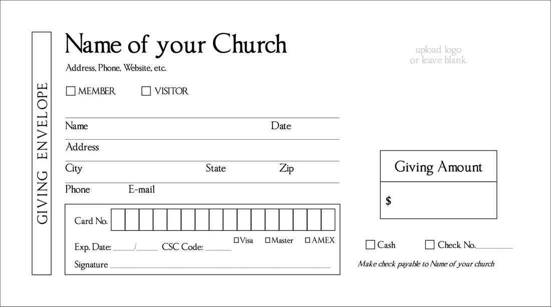 Church Offering Envelopes Templates Free 28 Of Tithes and Fering Envelopes Template Free