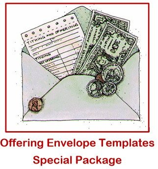 Church Offering Envelopes Templates Free Church Fering Envelope Templates