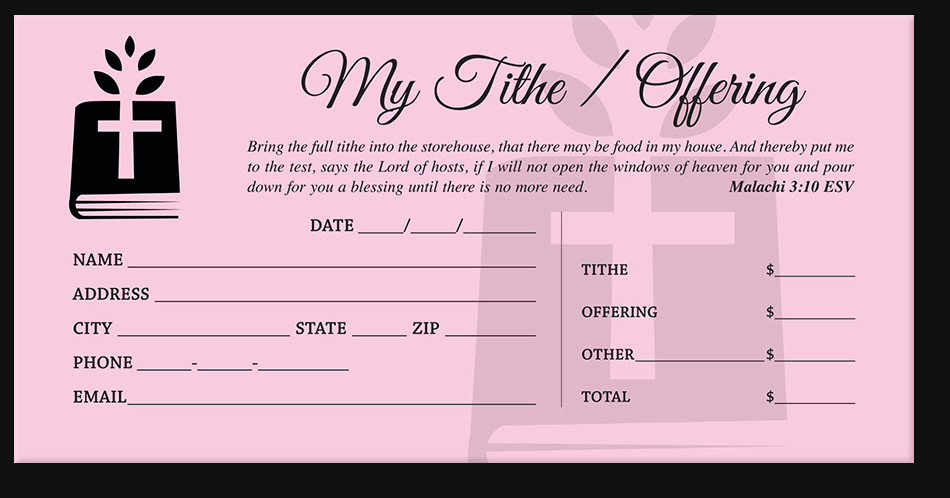 Church Offering Envelopes Templates Free Church Fering Envelopes Tithe Envelopes