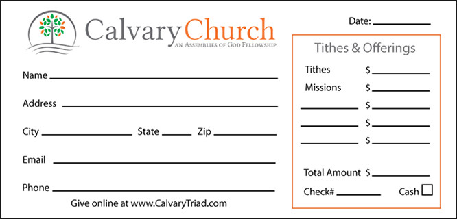 Church Offering Envelopes Templates Free Custom Church Fering Envelopes Design & Printing