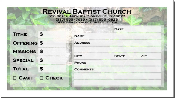 Church Offering Envelopes Templates Free Fering Envelopes How to Design Your Own My Church