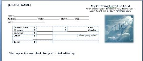 Church Offering Envelopes Templates Free Free Church forms Cd Fcf Cd