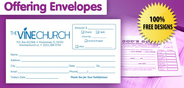 Church Offering Envelopes Templates Free Offering Envelope Printing Customized Offering Envelope