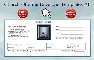Church Offering Envelopes Templates Free Shepherdbase Church Membership Database Tracks Members