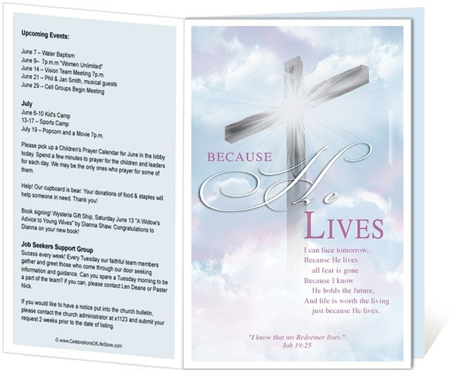 Church Program Template Free 14 Best Images About Printable Church Bulletins On