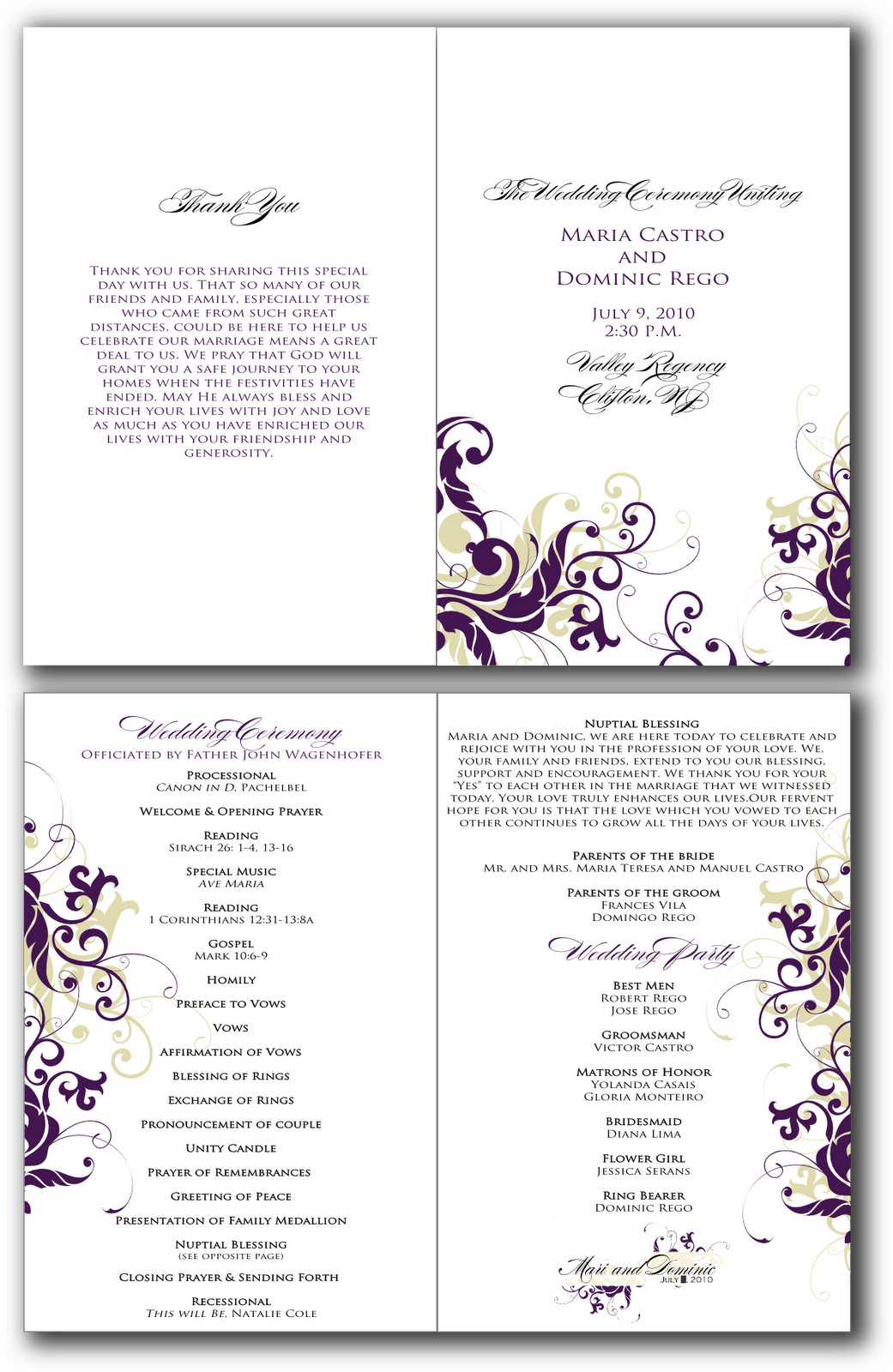 Church Program Template Free 8 Best Of Free Printable Church Program Design