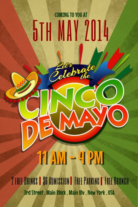 Cinco De Mayo Flyer Cinco De Mayo Flyer Templates