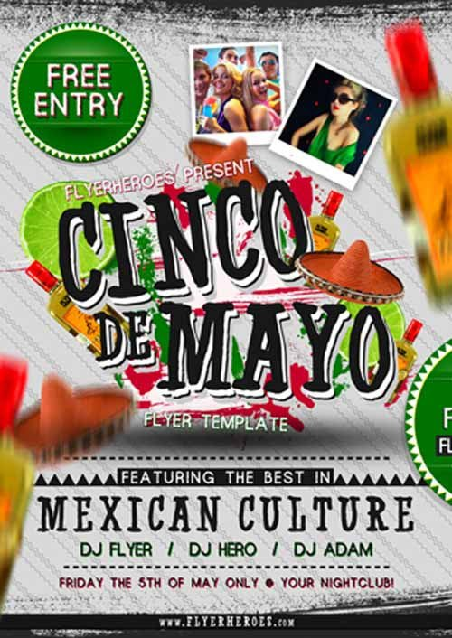 Cinco De Mayo Flyer Ffflyer