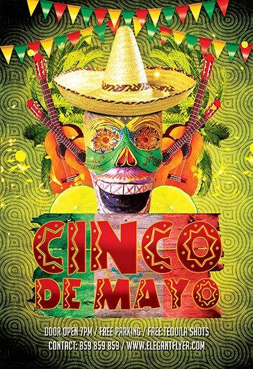 Cinco De Mayo Flyer Premium Psd Flyer Templates